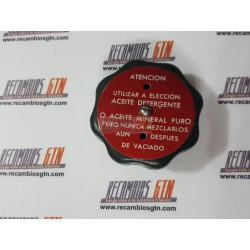 Renault 4, 5, 6, 7, 12. Tapon aceite