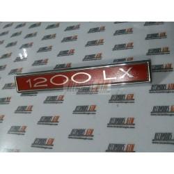 Simca 1200. Anagrama 1200 LX