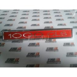 Simca 1000 GLS. Anagrama 1000 GLS