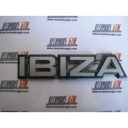 Seat Ibiza. Anagrama Ibiza