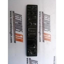 Renault 12. anagrama salpicadero