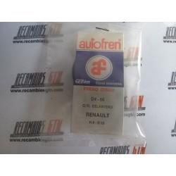 Renault 8. Renault 10. Kit raparación pinza delantera