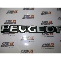 Peugeot 309. Anagrama Peugeot