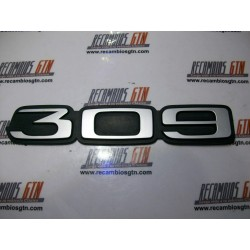Peugeot 309. Anagrama 309
