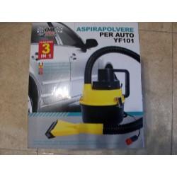 Aspirador 12V de coche mojado/seco e inflador