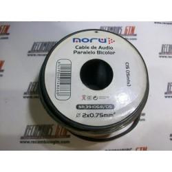 Cable paralelo bicolor para altavoces