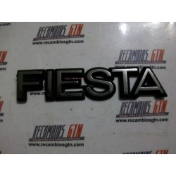 Ford Fiesta. Anagrama plástico fiesta