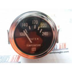 Reloj temperatura del agua