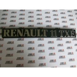 Renault 11. Anagrama Renault 11 TXE