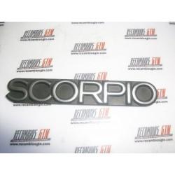 Ford Scorpio. Anagrama Scorpio 8cms