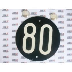 Señales de velocidad reversibles 80 o 90