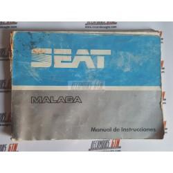 Seat Malaga. Manual de instrucciones