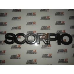 Ford Scorpio. Anagrama trasero