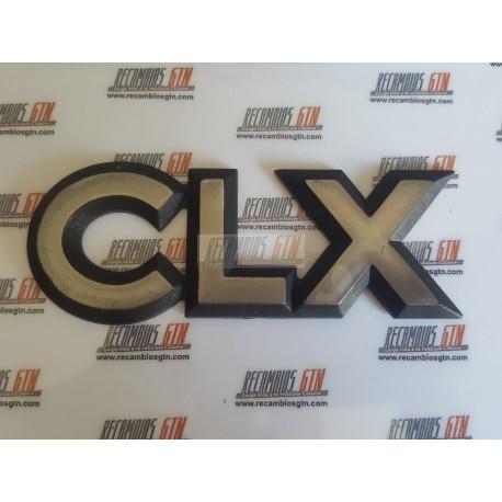 Ford Sierra. Anagrama CLX